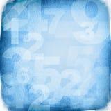 Retro numeri di stile Immagini Stock