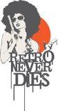 Retro nunca muere Imagenes de archivo