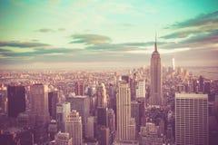 Retro NYC Royalty Free Stock Photo
