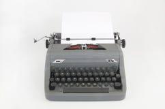 Retro o macchina da scrivere d'annata Immagini Stock Libere da Diritti