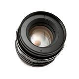 Retro obiettivo di macchina fotografica Fotografia Stock
