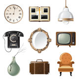 Retro objects Royalty Free Stock Image