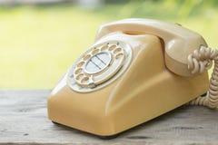 Retro obrotowy telefon, obrazy royalty free