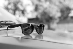 Retro occhiali da sole Immagine Stock