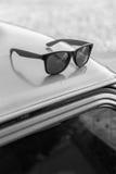 Retro occhiali da sole Fotografia Stock