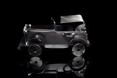 Retro och tappningbil arkivfoto