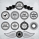 Retro odznaki ilustracji