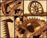 Retro oggetti d'agricoltura Fotografia Stock Libera da Diritti