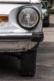 Retro old car bumper Royalty Free Stock Photo