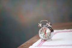 Retro old clock Royalty Free Stock Images