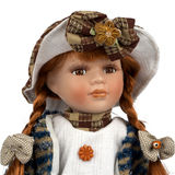 Retro old dolly Stock Image