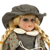 Retro Old Dolly Royalty Free Stock Photo