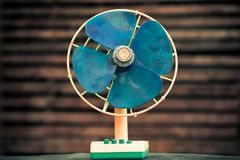 Retro old fan Royalty Free Stock Photo