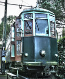 Retro old style tram Stock Photography