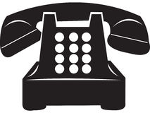 Retro Old Telephone Royalty Free Stock Images