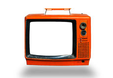 Retro, the old television. Retro, the old colorful television Royalty Free Stock Photo