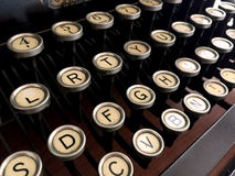 Retro old typewriter Royalty Free Stock Photos