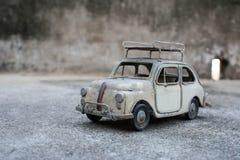 RETRO- Oldtimer-Modell Stockfoto