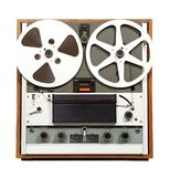 Retro Open Reel audio recorder Stock Image