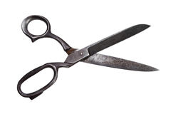 Retro opened Scissors Royalty Free Stock Photography