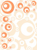 Retro Orange Royalty Free Stock Images