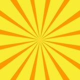 Retro orange background ray Royalty Free Stock Images