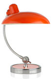 Retro orange table lamp Stock Images