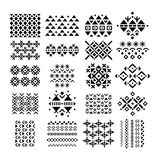 Retro Ornament and Embroidery Set Royalty Free Stock Photos