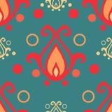 Retro ornament seamless. Abstract retro seamless ornament patterns vector illustration stock illustration