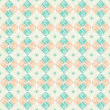 Retro- Ornamental Weinlese des nahtlosen Musters Stockfotografie