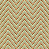 Retro ornamento senza cuciture astratto di zigzag Immagini Stock Libere da Diritti