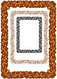 Retro ornate border design Stock Image
