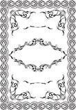Retro ornate frame Royalty Free Stock Images