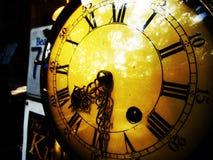 Retro orologio d'annata Fotografia Stock