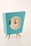 Retro orologio del Aqua Immagine Stock