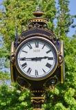 Retro outdoor clock Stock Image