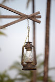 Retro outdoor lamp Royalty Free Stock Image