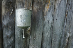 Retro outdoor washbasin Royalty Free Stock Images
