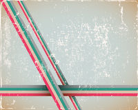 Retro Page Background in cyan Stock Image