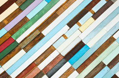 Retro of painted wooden wall Stock Images