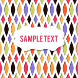 Retro paper cut background Royalty Free Stock Photo