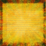 Retro paper note Royalty Free Stock Images