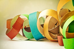 Retro paper party background Royalty Free Stock Image