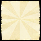 Retro paper with sunburst Royalty Free Stock Photos
