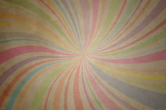 Retro- Papierzeile Stockbild