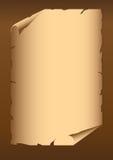 Retro papper Arkivbild