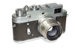 retro parallell kamera Arkivbild