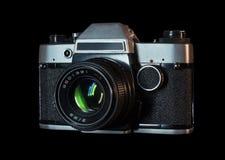 retro parallell kamera royaltyfri foto