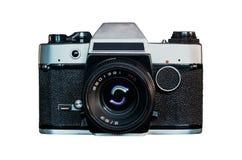 retro parallell kamera royaltyfri bild