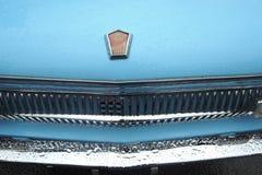 Retro paraurti russo dell'automobile ZAZ Fotografia Stock